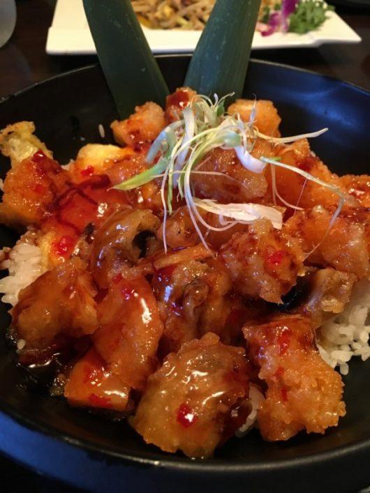 Spicy Tem Don OSushi