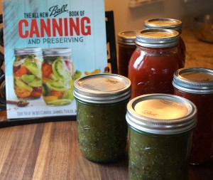 Book with jars