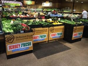 Wegman's fresh produce display, Jersey Bites