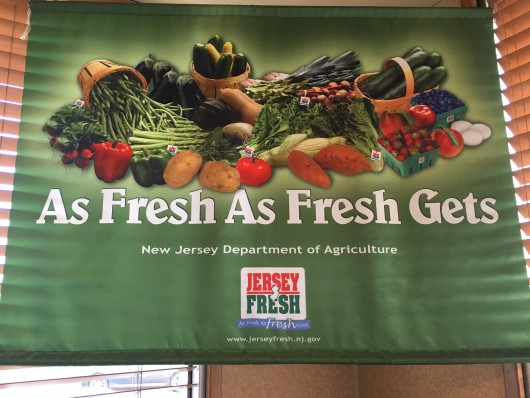 Jersey Fresh sign