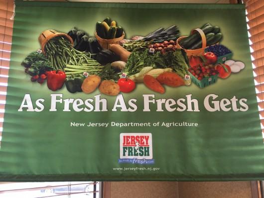 Jersey Fresh sign
