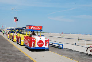 Take the tram in Wildwood NJ
