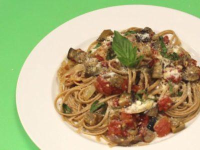 Foodbank culinary school eggplant-dish