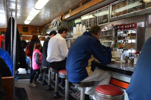 Cozy confines of the Summit Diner, Michael C. Gabriele, Jersey Bites