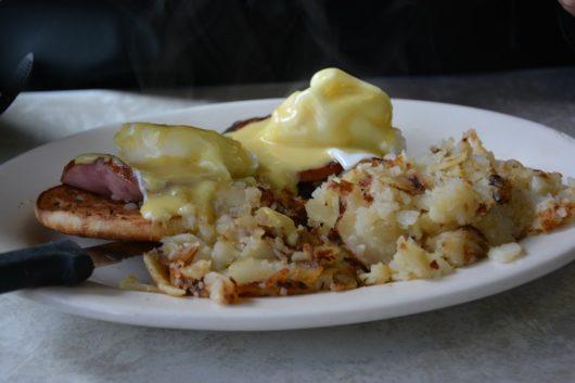 Eggs benedict, Summit Diner, Michael C. Gabriele, Jersey Bites