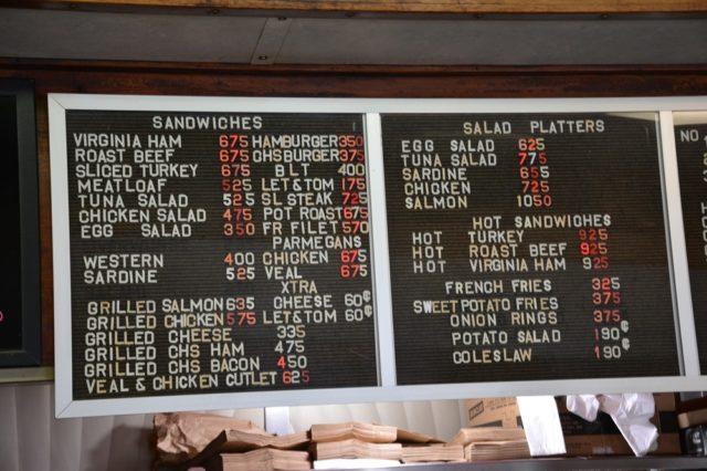 menu, Summit Diner, Michael C. Gabriele, Jersey Bites