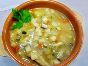 Vegetable Gnoccetti Soup