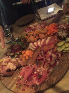 Viaggio's Salami Platter