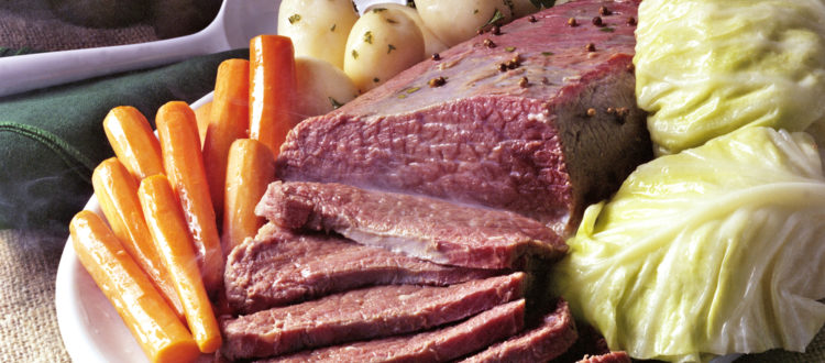 Corned Beef and Cabbage NJ St. Patrick's Day