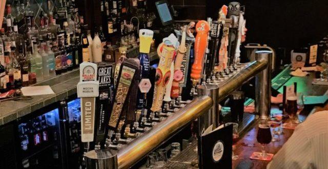 Beer Taps at Old Bay New Brunswick
