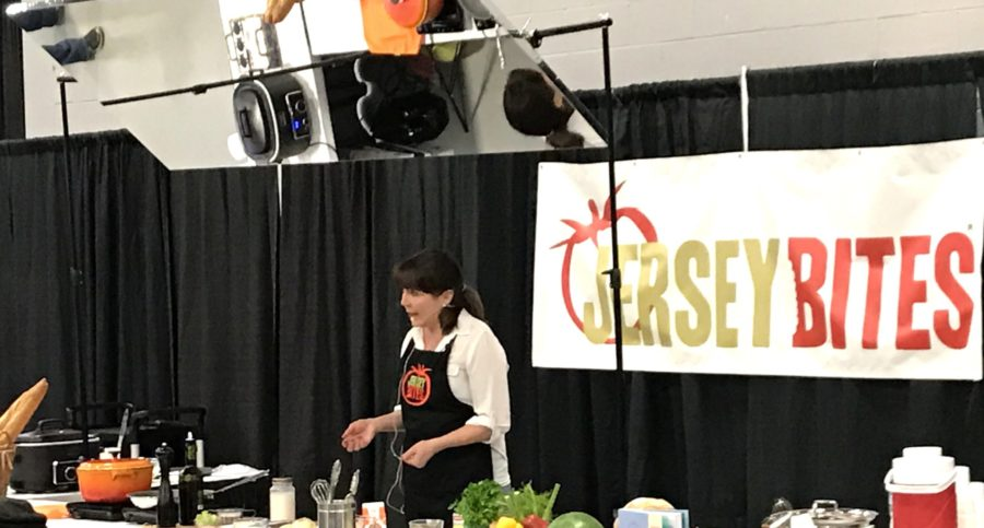 Deborah Smith at the NJ Home Show Cooking Demo