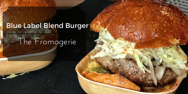 Blue Label Blend Burger from The Fromagerie