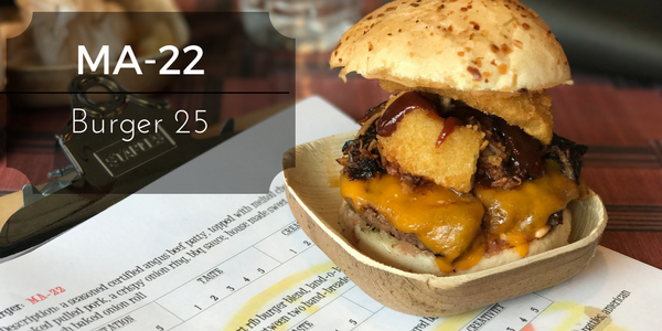 MA-22 from Burger 25 in Toms River