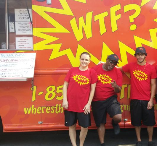WTF Food Truck, Jersey Bites, Staff: Lisa, Tim and Elijah McRae