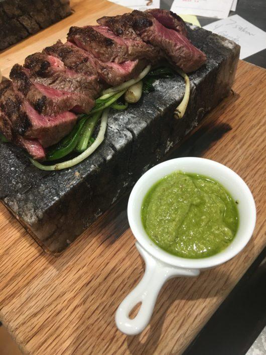 Wagyu flatiron steaks, Stage Left, Spring Ingredients, Jersey Bites