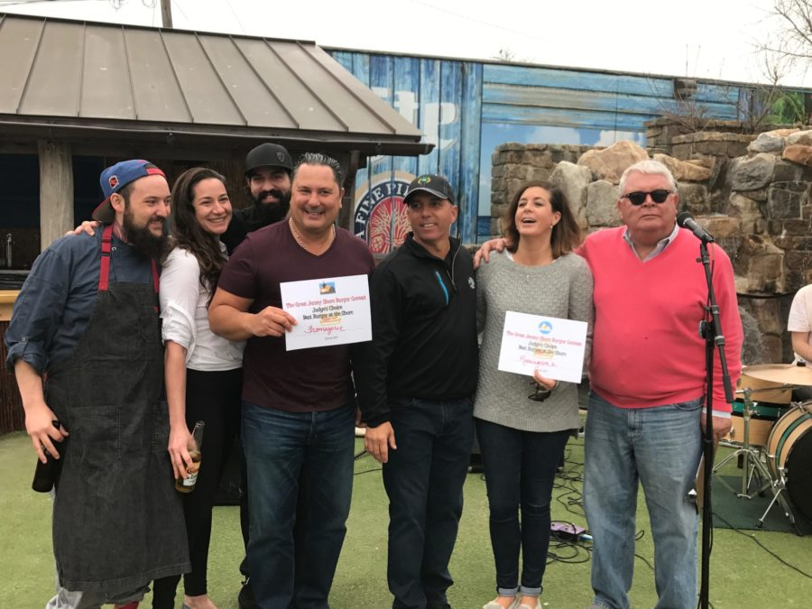 Judges Choice Winners - Great Jersey Shore Burger Contest
