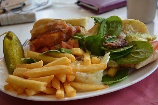 Shrimp salad, Colonial Diner, Michael Gabriele, Jersey Bites