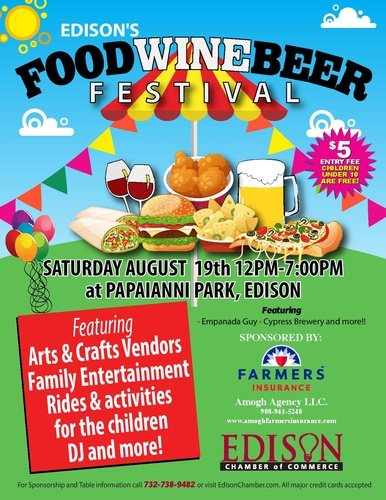 Edison's Food Wine and Beer Festival, Jersey Bites