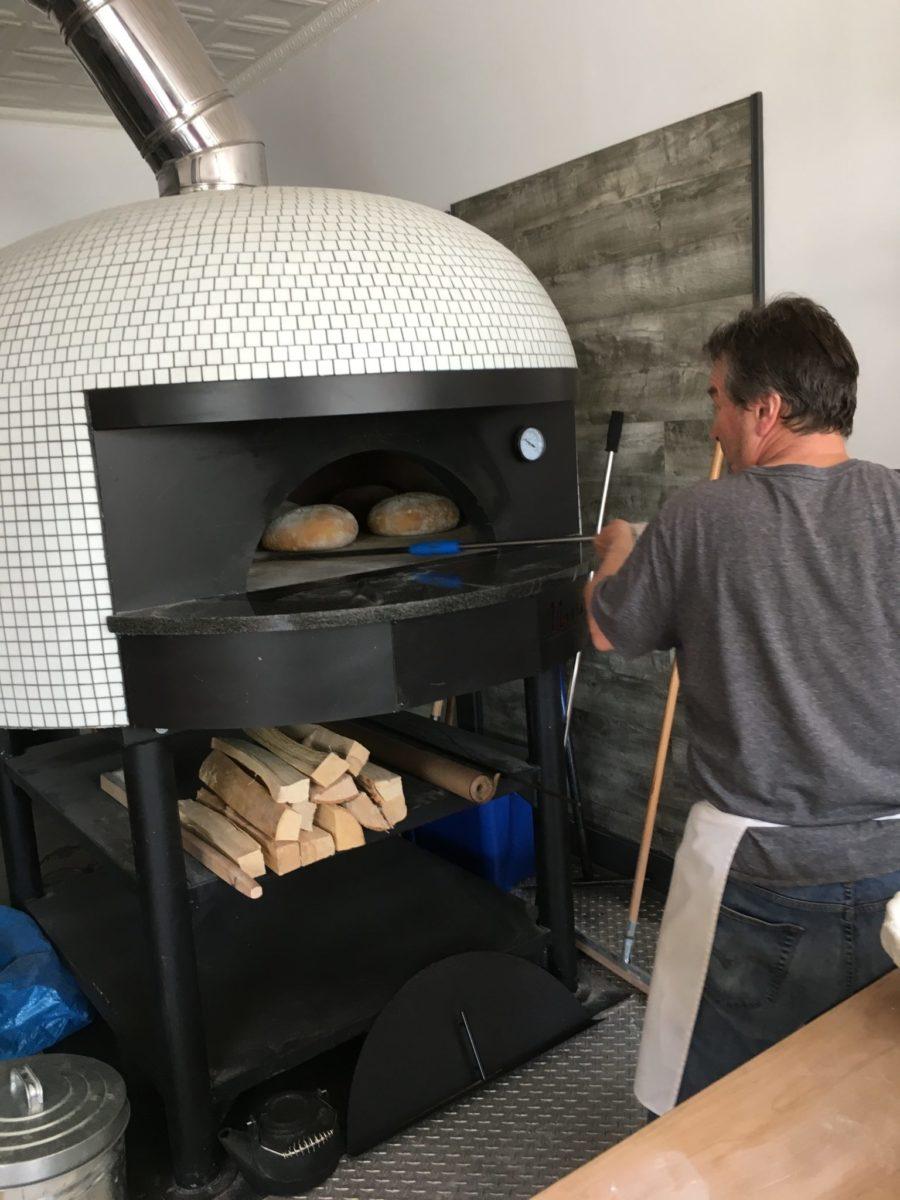Bivio Panificio's bread oven