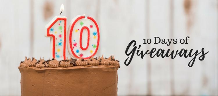 10th birthday cake celebration