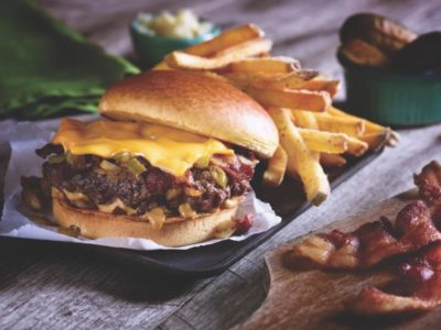 Applebees cheeseburger