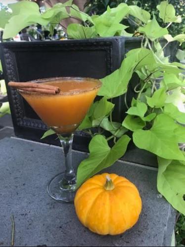 Smashing Pumpkin Martini, Ho-Ho-Kus Inn & Tavern, Ho-Ho-Kus, NJ, Jersey Bites