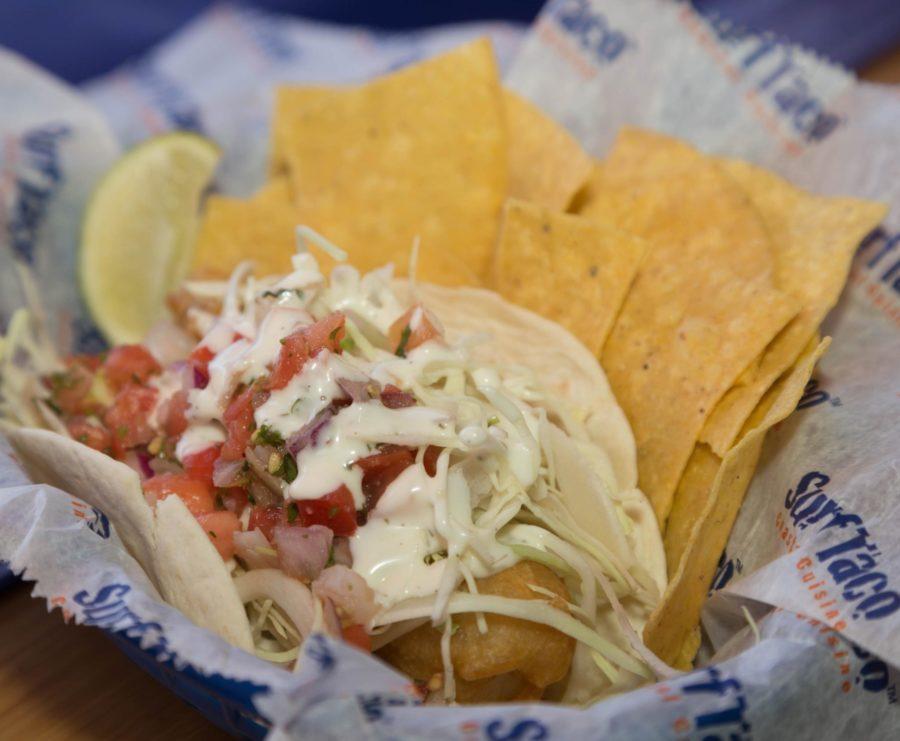 Surf Taco's Fish Taco