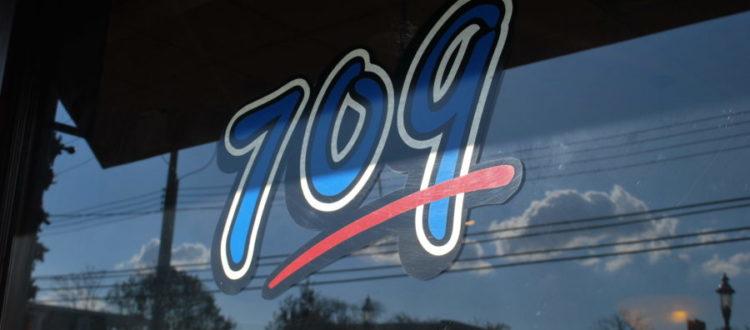 709 restaurant front window