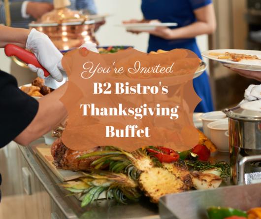Jersey Bites, Thanksgiving, B2 Bistro