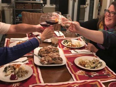 friendsgiving guests