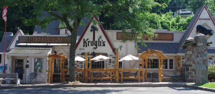 Krogh's Restaurant and Brewery in Sparta.