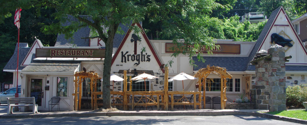 Krogh's Restaurant and Brewery in Sparta.