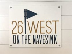 26 west sign