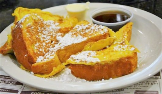 Brioche French toast at the Mastoris Diner. Jersey Bites, Michael Gabriele