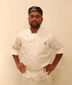 Chef Sushant of Aarzu Indian Restaurant