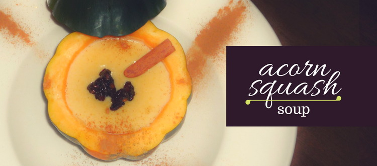 Roasted Scorn Squash Soup Recipe