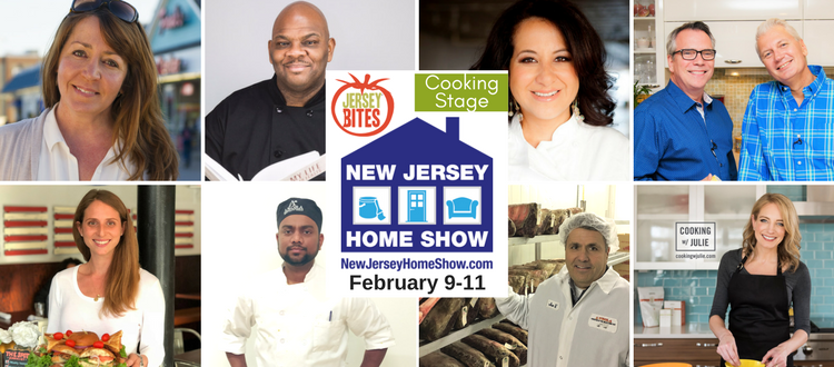 NJ Home Show line up of chefs