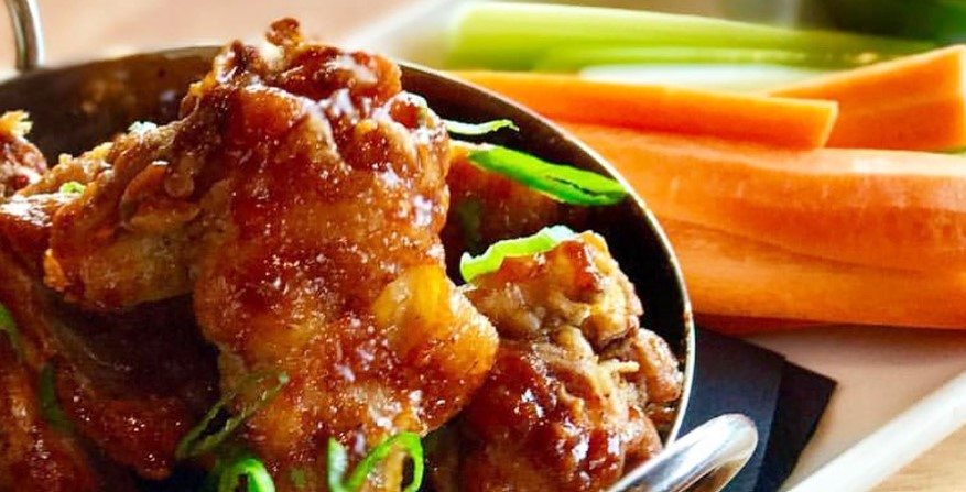 Korean Wings recipe from Salt Creek Grille Princeton