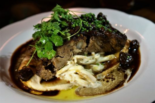 The Braised Lamb from The Grand Tavern in Neptune