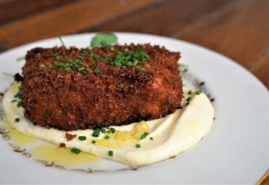 The fried rabbit terrine from The Grand Tavern in Neptune, Jersey Bites
