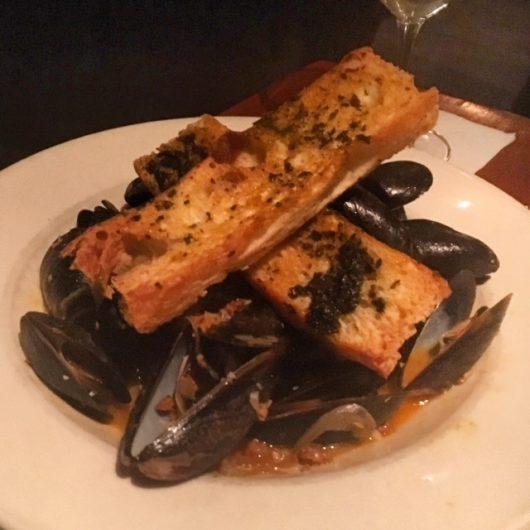 PEI mussels at Salt Creek Grille – Rumson, Jersey Bites, Danielle Zilg