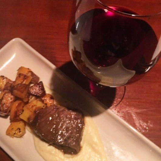 Braised short rib with polenta and roasted butternut squash, Salt Creek Grille – Rumson, Jersey Bites, Danielle Zilg