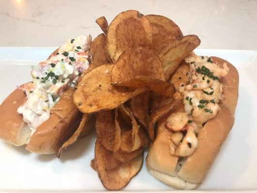 Lobster roll, Charlie's of Bay Head, A Lady Walks into a Bar, Jersey Bites