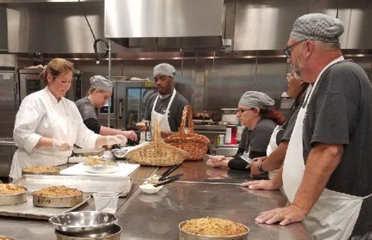 Chef Lisa at FulFills Culinary Class