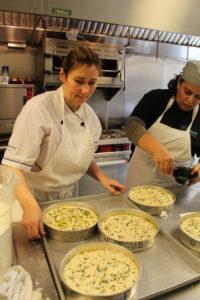 Chef Lisa teach