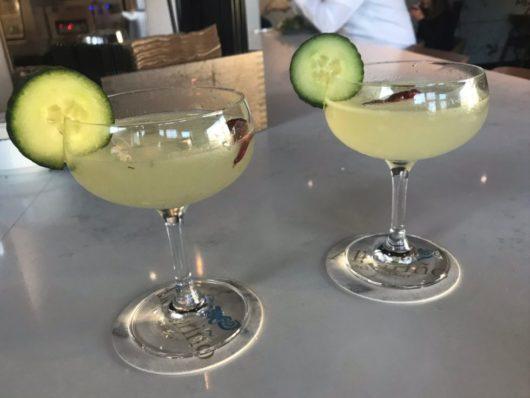 Poquito Picante cocktails