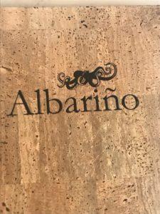 Albarino menu