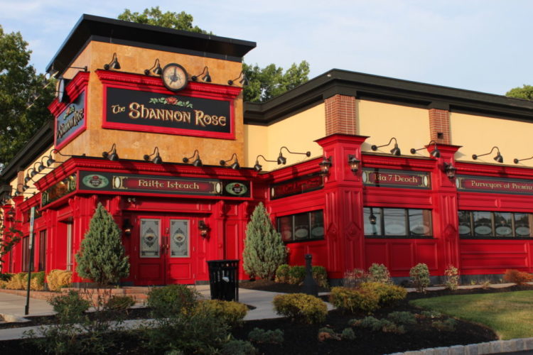 The Shannon Rose—Ramsey location. Also in Clifton. Jersey Bites Best Irish Pubs