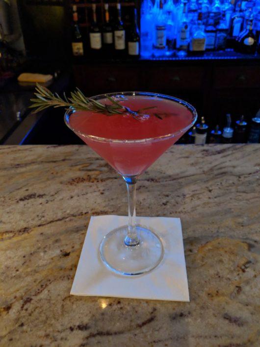 The Wine Bar, Highlands, A Lady Walks into a Bar, Gabrielle Garofalo, Jersey Bites, fig martini