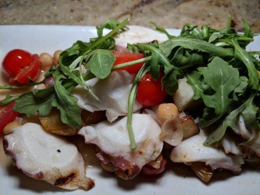 The Wine Bar, Highlands, A Lady Walks into a Bar, Gabrielle Garofalo, Jersey Bites, grilled octopus salad